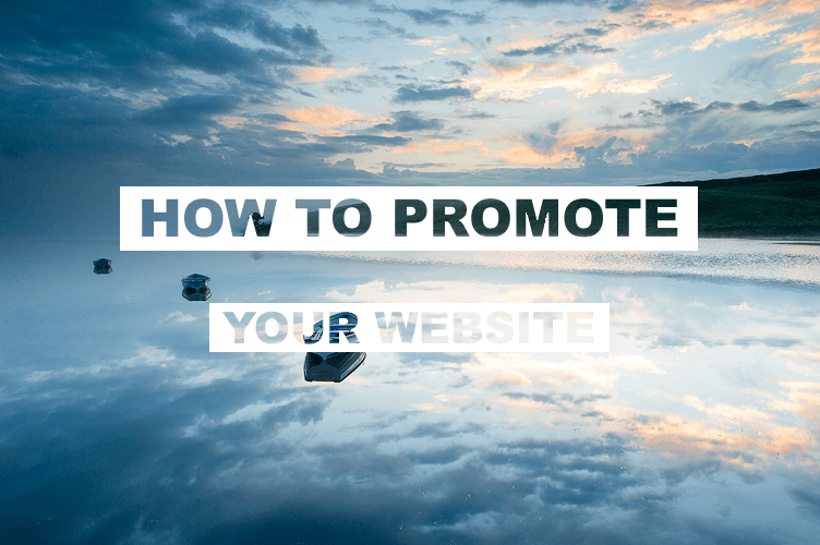 Promote your own website Tip #2